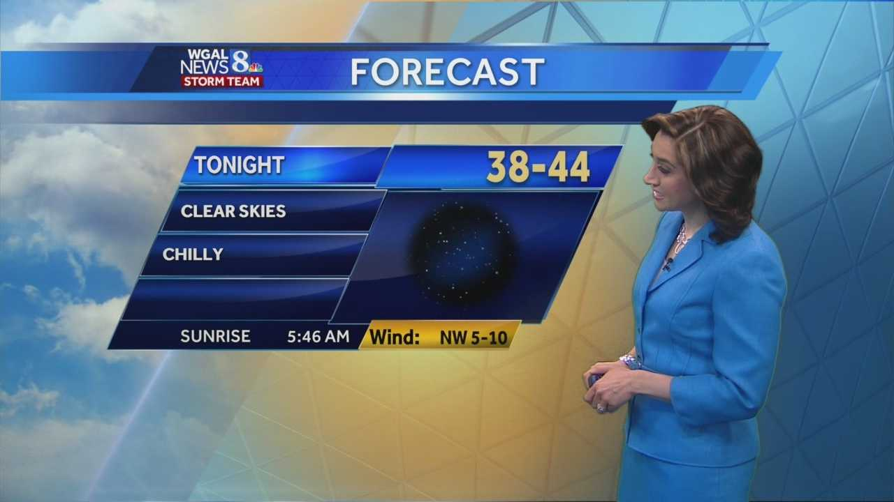 It's going to be a very chilly night. But what about the rest of the weekend? Watch Christine Ferreira's forecast to find out.