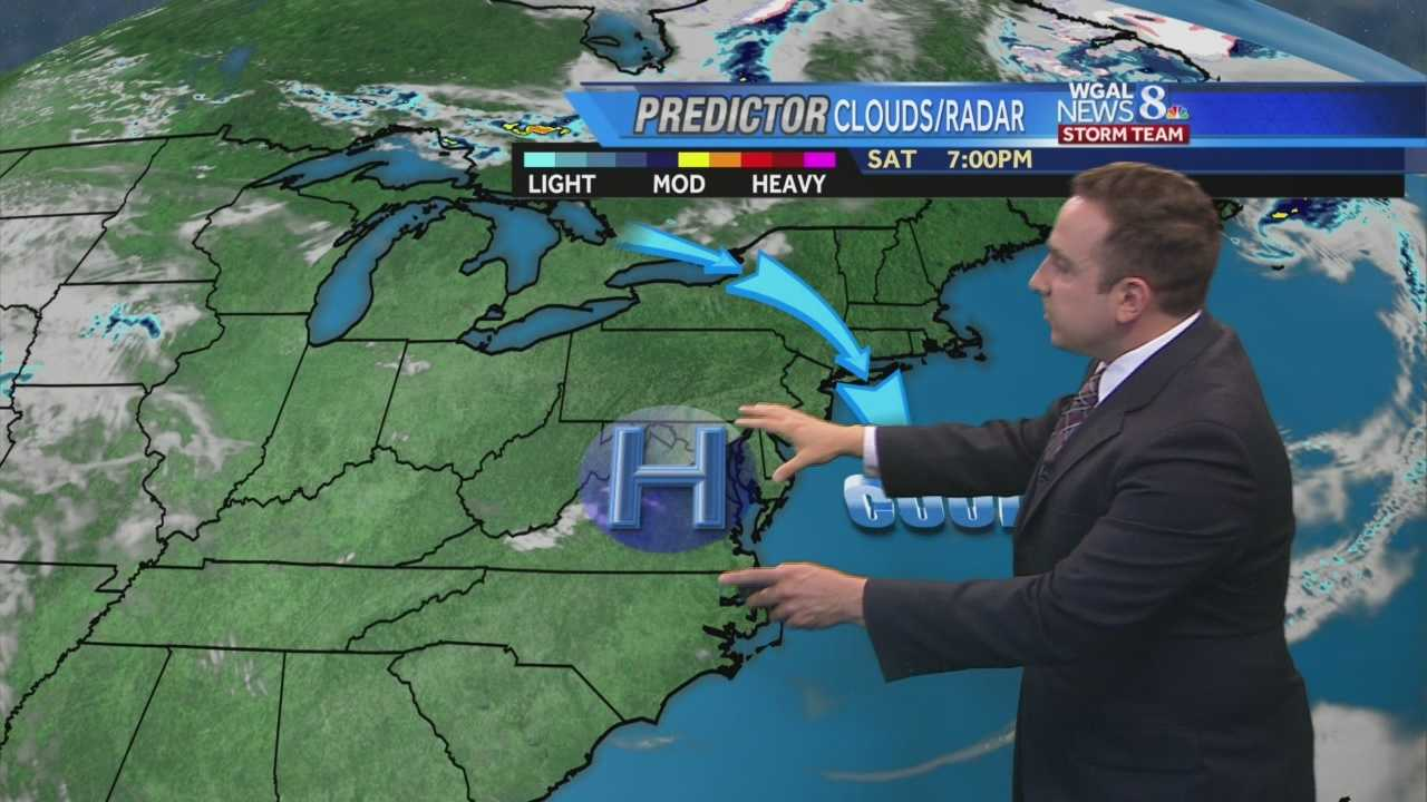 News 8 Storm Team Meteorologist Ethan Huston has the forecast featuring a dry stretch of weather for the rest of the holiday weekend. Summer-like high heat and humidity return soon.