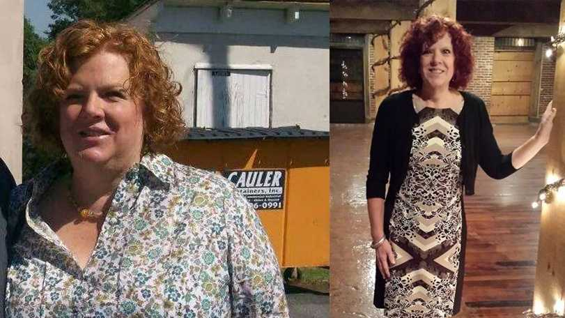 Before and After: In 2011, Cheri Henry of Marticville, Lancaster County, was 50-years-old and diagnosed with breast cancer. Today, she's is a cancer survivor and 100 pounds lighter!