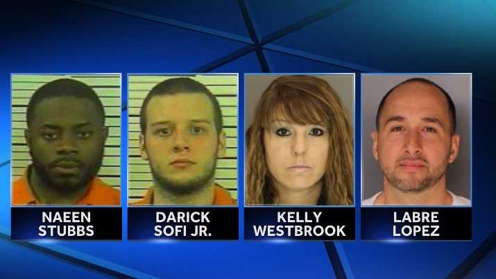 Police say they've arrested almost a dozen people on heroin charges after several busts around the Susquehanna Valley.