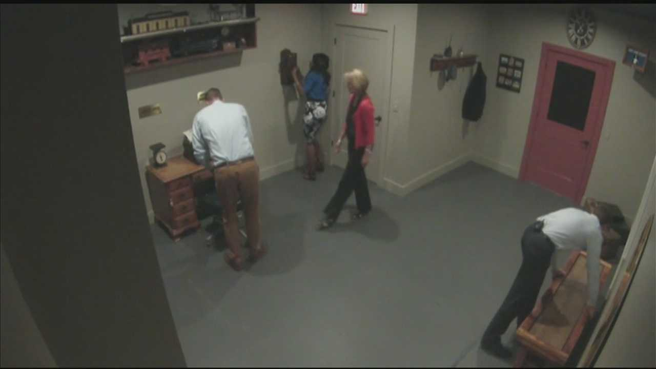 Can the News 8 Today team get out of the Escape Room?