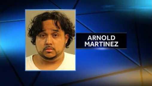 MUG SHOT: Arnold Martinez
