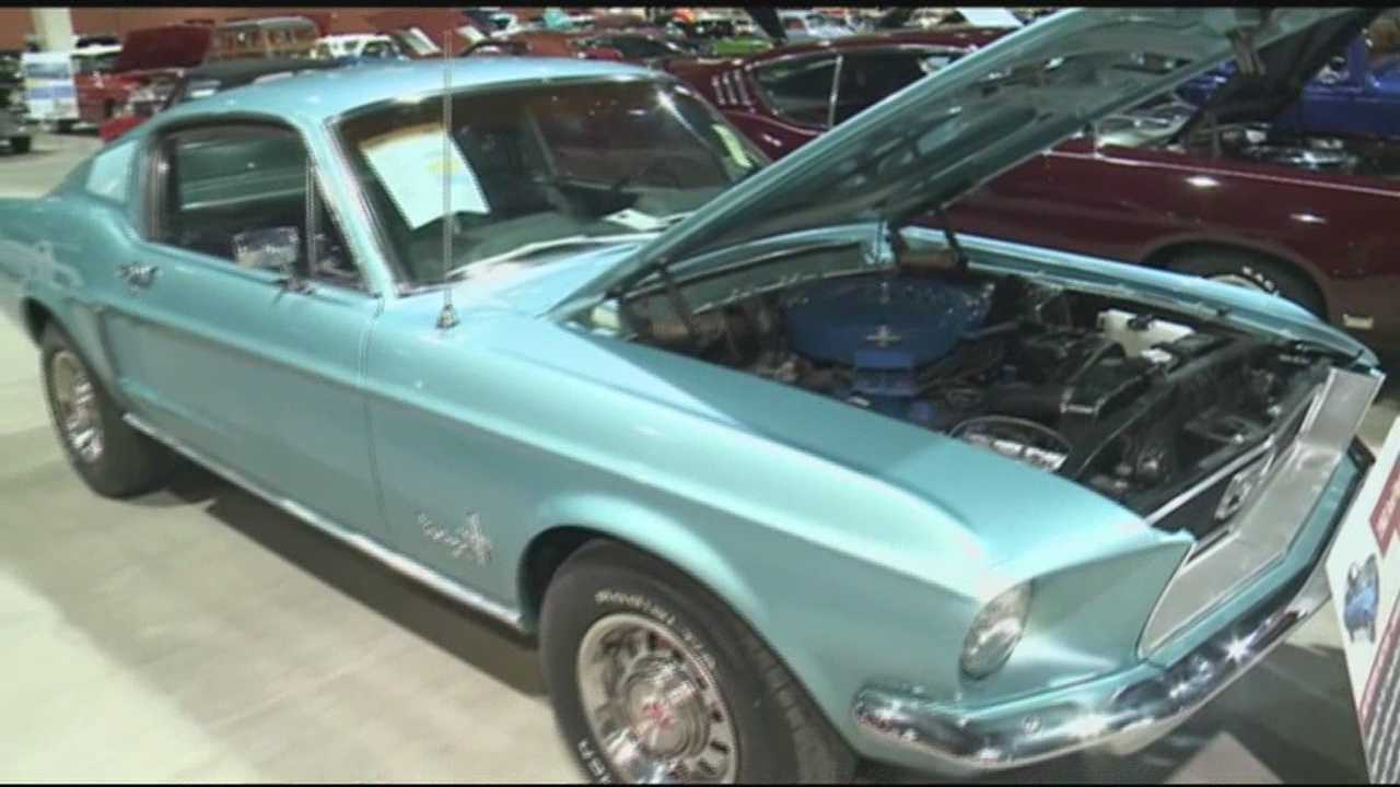 For the second year in a row, the Mecum car auction is at the Farm Show Complex in Harrisburg.