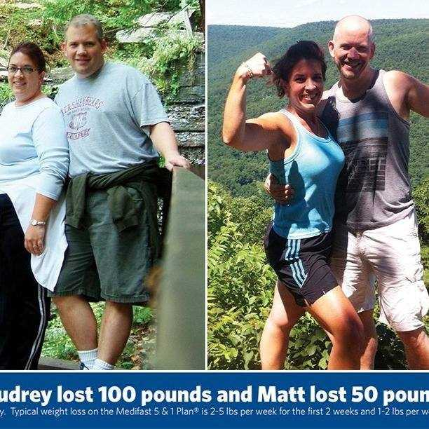 Before and After: Matt and Audrey Hartsock of the Ephrata/Leola area in Lancaster County, Pennsylvania, lost over 150 pounds together.