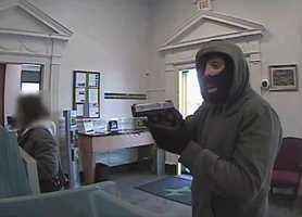 You can watch video of the robbery here.