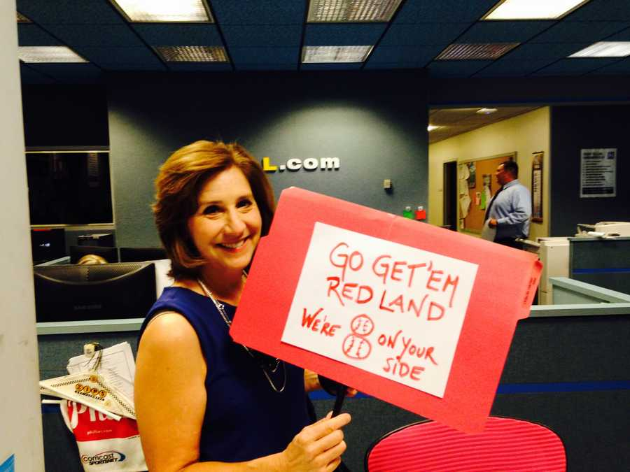 Reporter/Anchor Susan Shapiro wants Red Land to know: We're #8OnYourSide, Red Land!