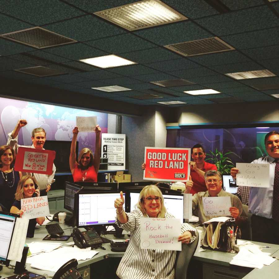 The WGAL newsroom is rooting for the team from York County, Pennsylvania, that made it to the Little League World Series! Let's Go Red Land! #LLWS #RedLand #WhyNotUs
