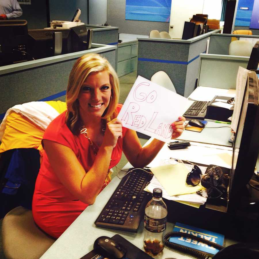 News 8 Reporter Katelyn Smith shows Red Land some love!