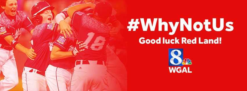 Show your support for Red Land by making this custom graphic your Facebook background photo. (You have WGAL's permission to use it!)
