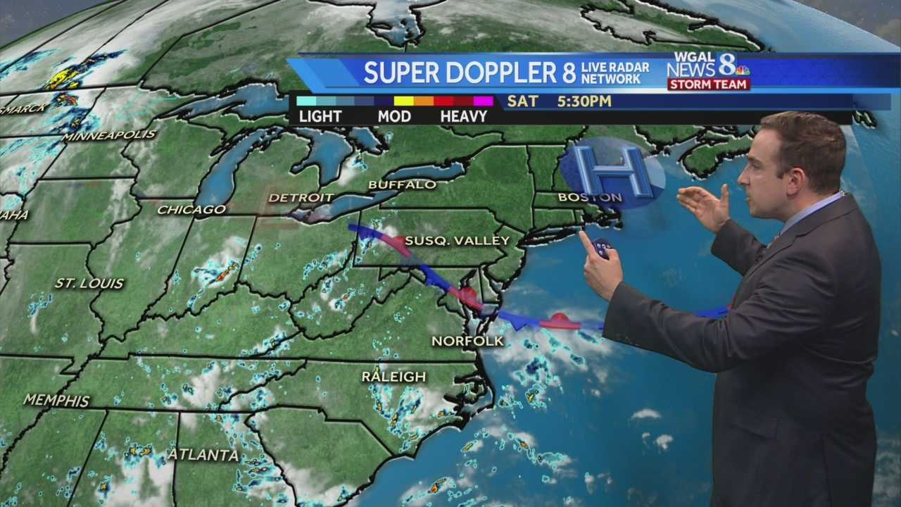News 8 Storm Team Meteorologist Ethan Huston explains how long the break from the high heat and humidity will last.