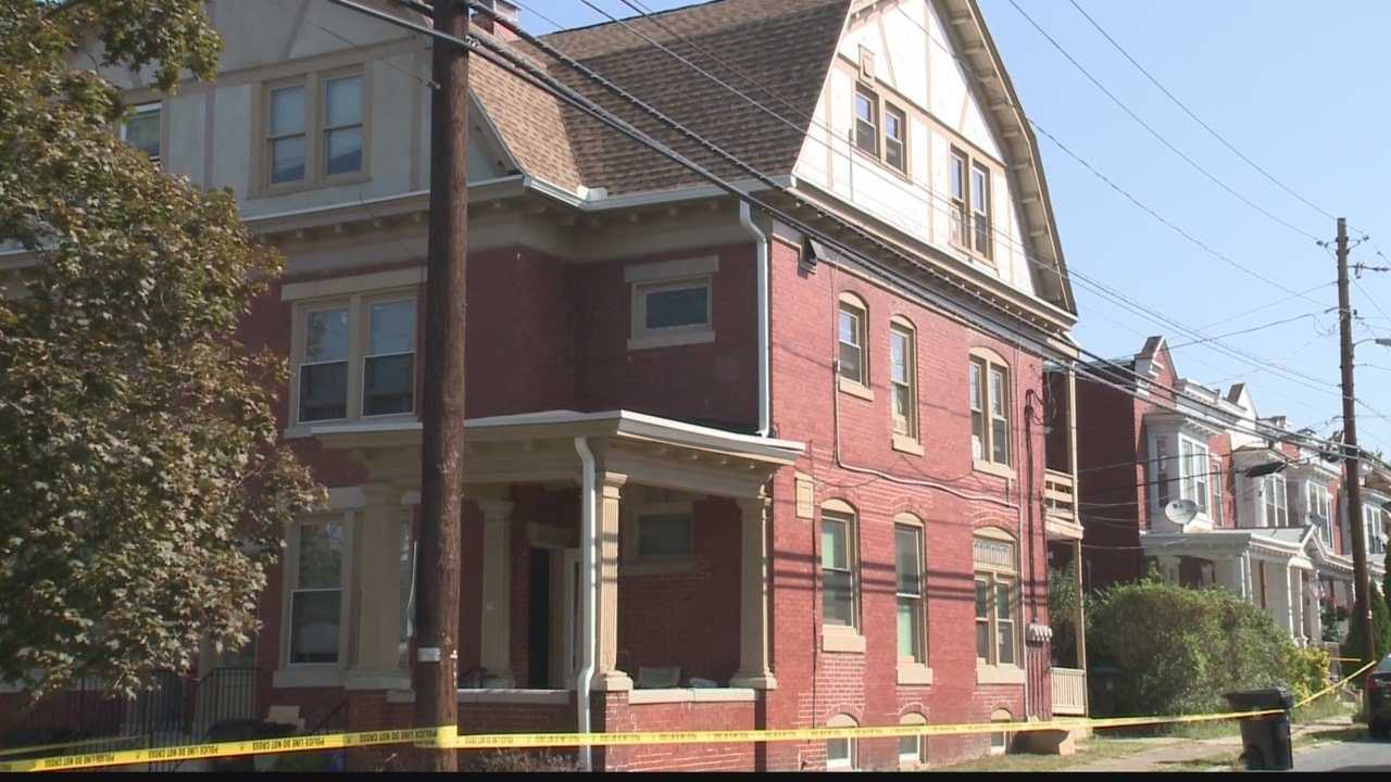Police and the coroner are investigating after a body is found in a Harrisburg apartment house.