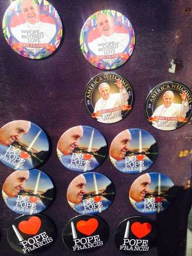 Papal pins: $5 each