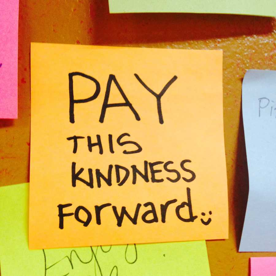 The Post-its, filled with kind and warm greetings, line the walls of the shop, located at 11th and Chestnut streets. Click through to see 10 positive Post-Its as seen at Rosa's on papal visit weekend.