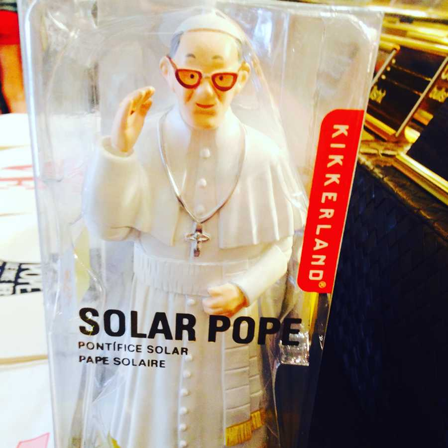 Solar Pope: $24