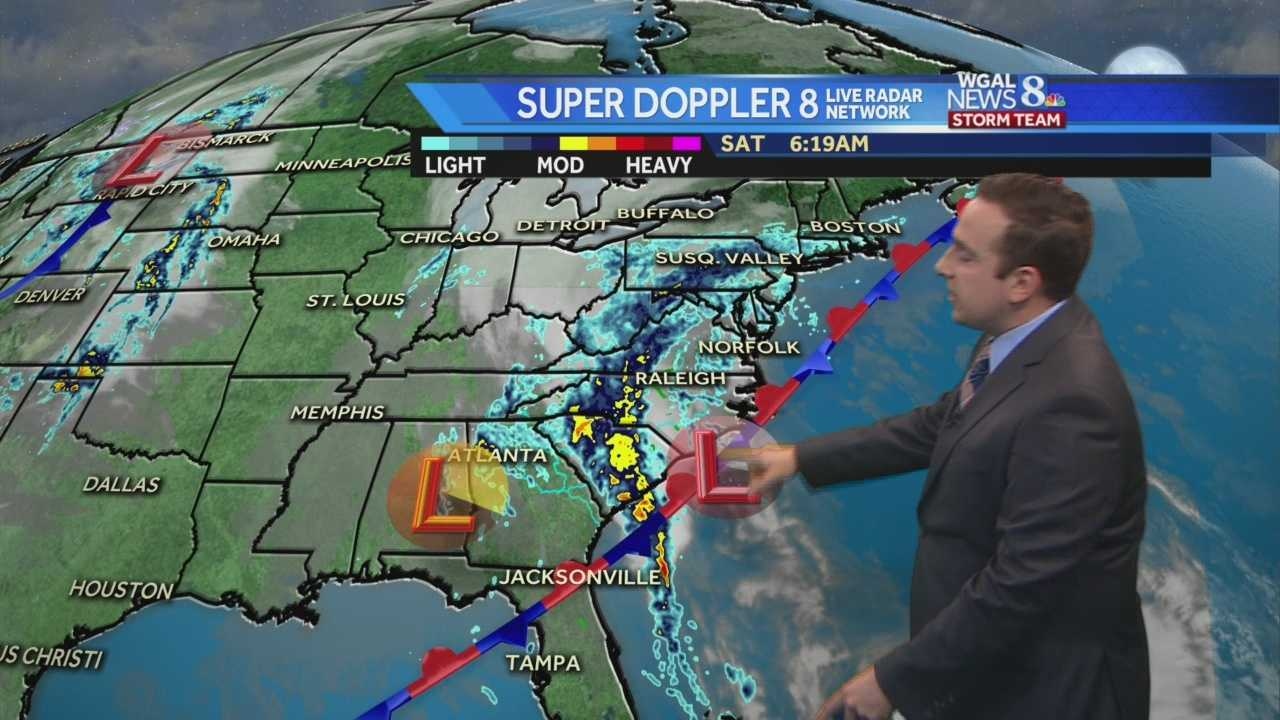 News 8 Storm Team Meteorologist Ethan Huston has the forecast featuring, chilly winds, nearly continuous light rainfall.