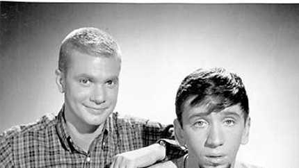 Dobie Gillis and friend Maynard G. Krebs, the closest any of us ever got to a real beatnik.