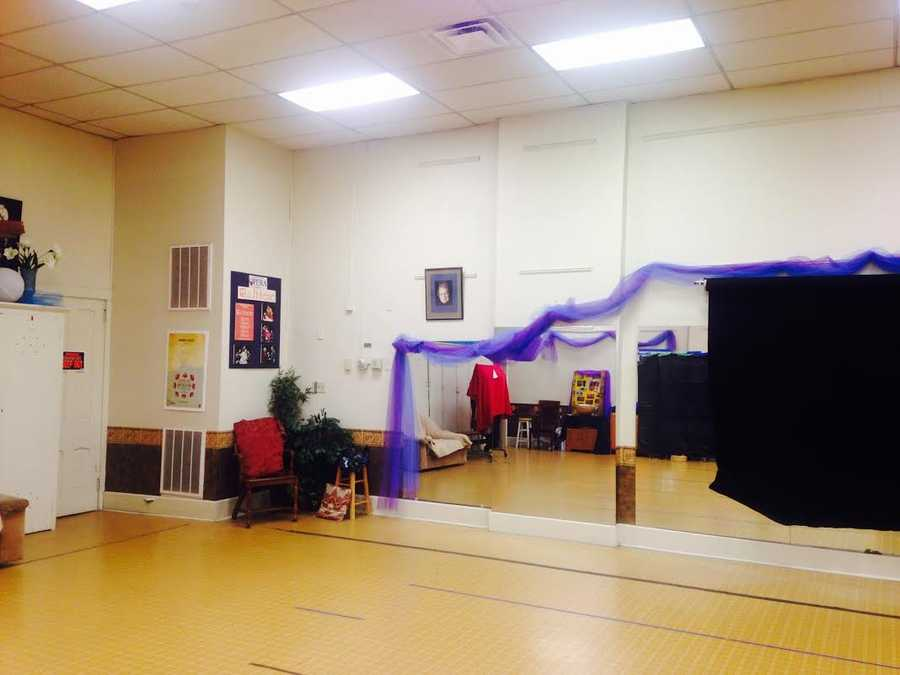 This is the opera company's audition and practice space. (Fun Fact: Each week a belly dance ensemble practices here.)