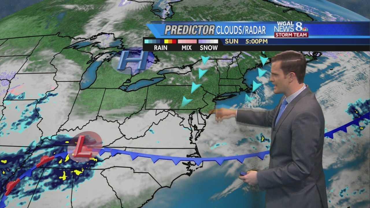 he News 8 Storm Team Forecast With Meteorologist Matt Moore