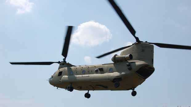 File Photo: Military Chinook helicopter