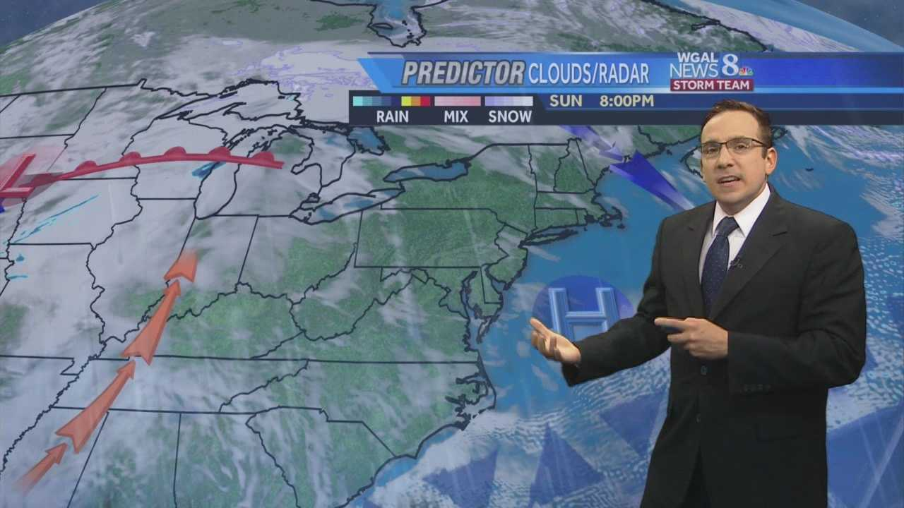 News 8 Storm Team Meteorologist Ethan Huston has the forecast featuring record high temperatures during the first full week of winter.