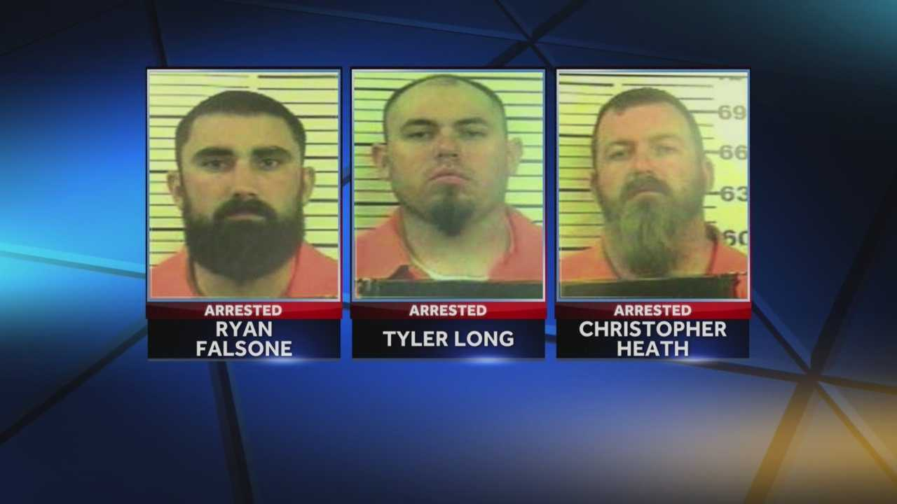 Three California men, including a sheriff's deputy, are accused of trying to deliver $2M worth of marijuana to a home in York County.