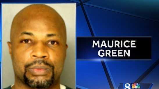 MUG SHOT: Maurice Green
