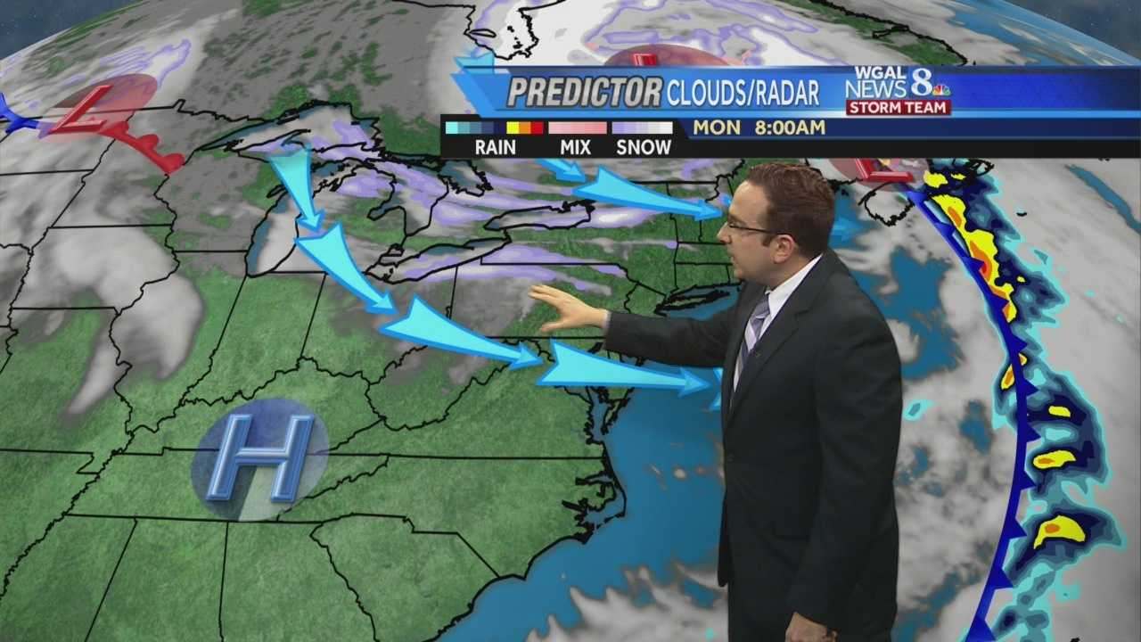News 8 Storm Team Meteorologist Ethan Huston has the forecast featuring near record highs and rainfall totals for Sunday.