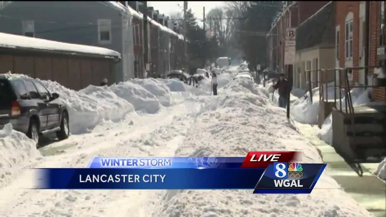 1.25.16 lancaster avenue shoveling