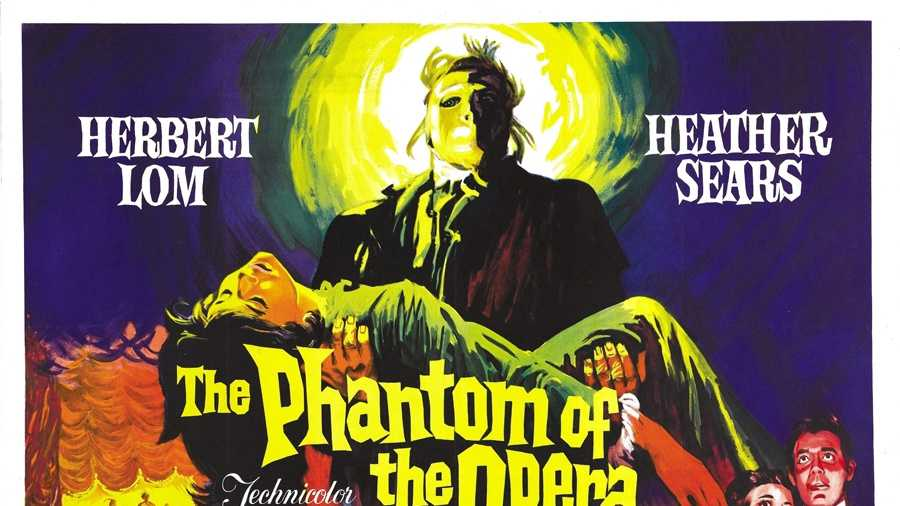 PHANTOM OF THE OPERA 1962 POSTER