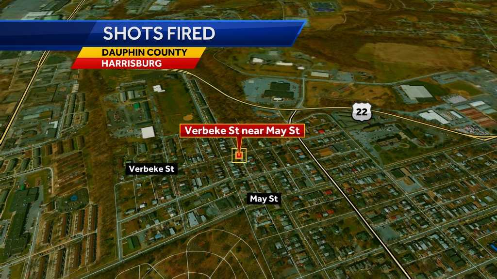 Man shoots at car in Harrisburg, still on the loose