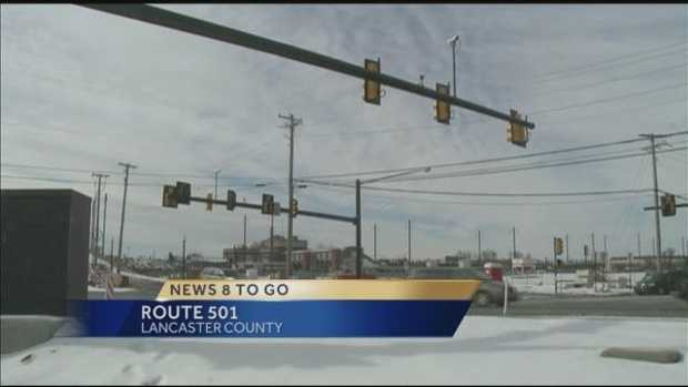 Major construction on Route 501 to begin Wednesday