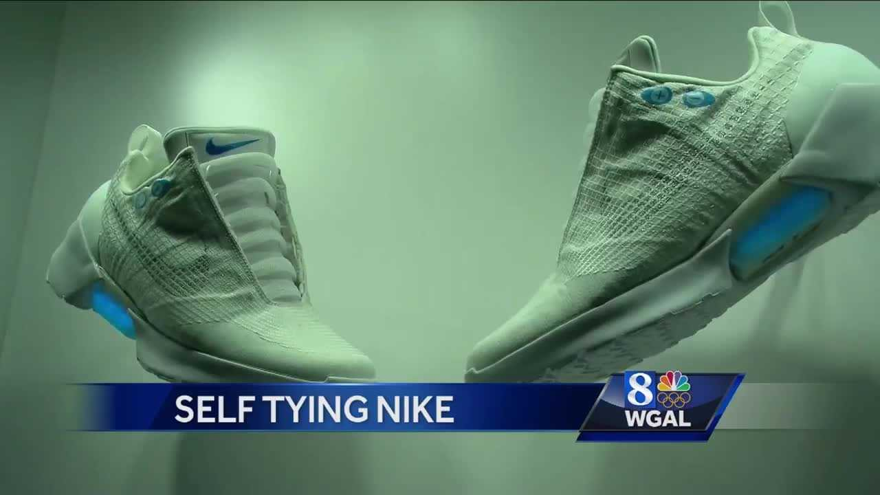 Nike reveals new self-tying shoes