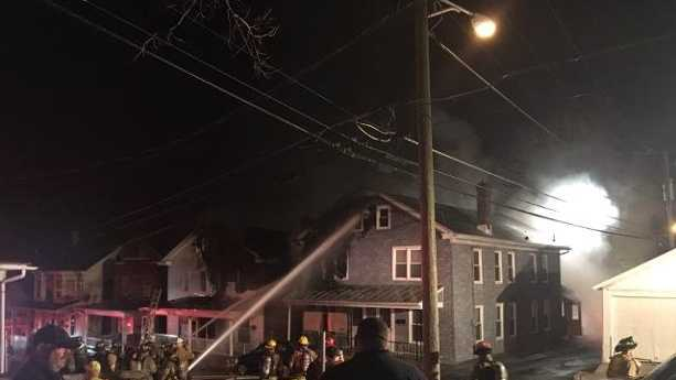 Fire damages multiple homes in Lancaster