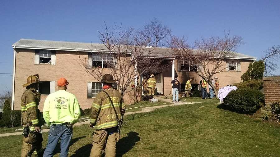 East Penn Apt Fire