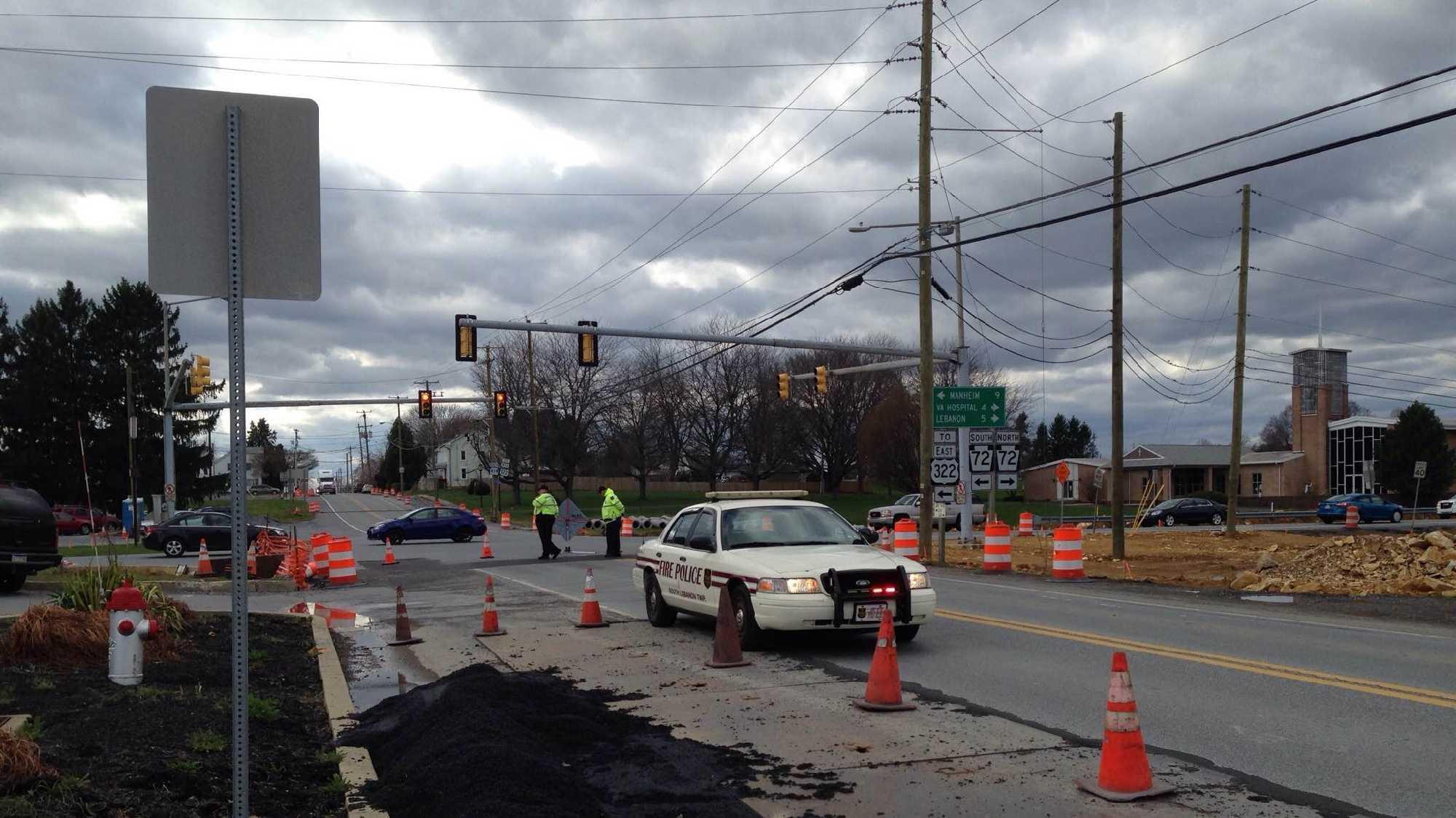 Crews on scene of fatal crash in Lebanon County