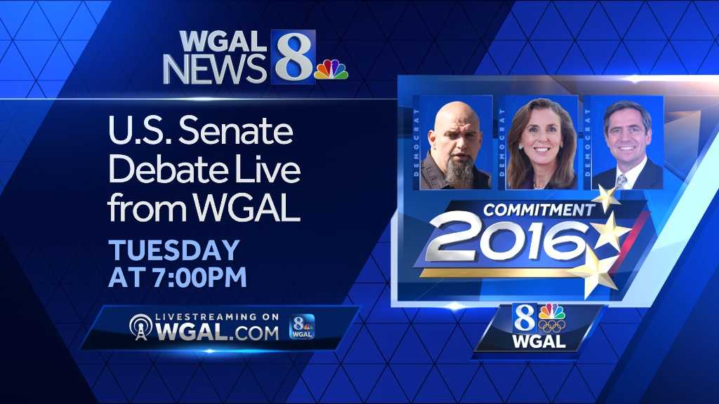 WGAL to host next Pennsylvania Senate primary debate Tuesday