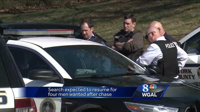 Search Continues For Suspects After School Lockdowns