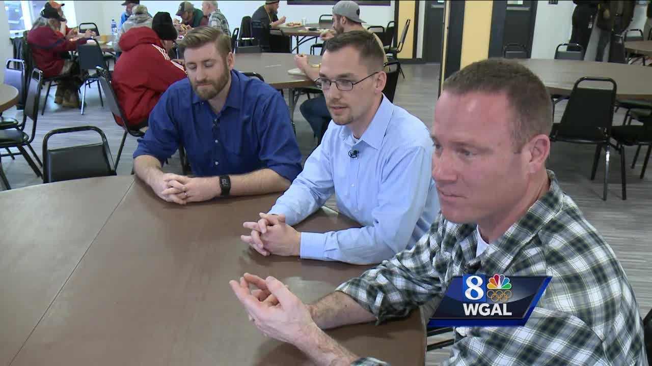 PA Senate candidates serve-up lunch at Water Street Rescue: Part 2