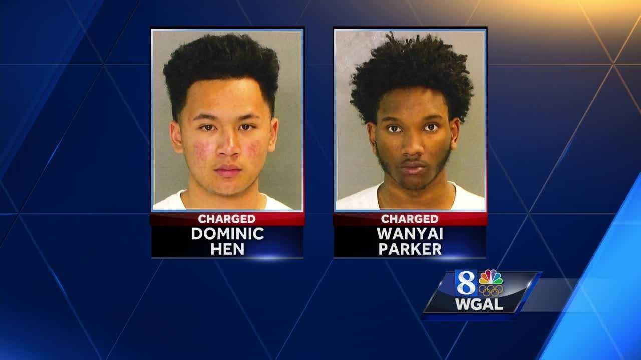 4.15.16 dominic hen and wanyai  parker arrest
