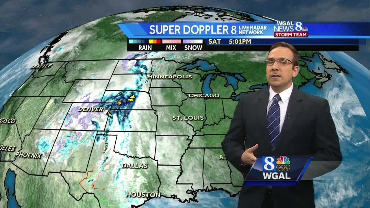 News 8 Storm Team Meteorologist Ethan Huston has the forecast featuring more sunshine and more warmth for Sunday.