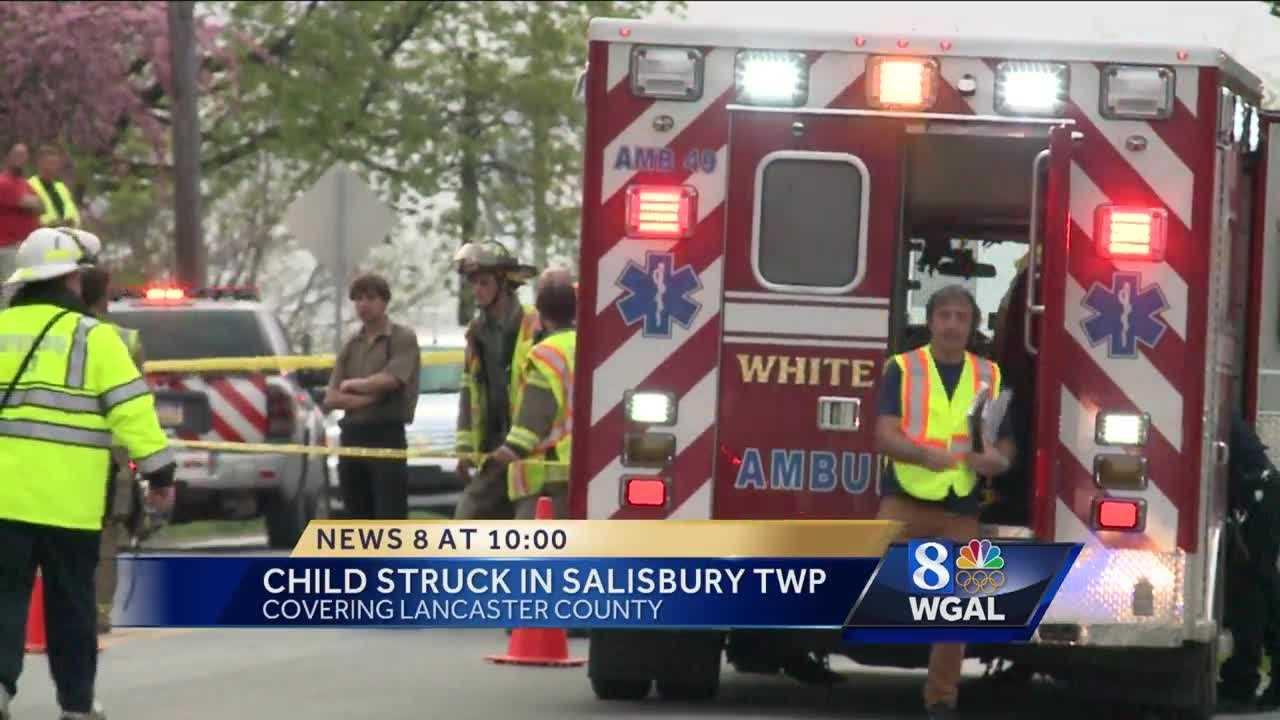Boy struck in Lancaster County&#x3B; taken to hospital