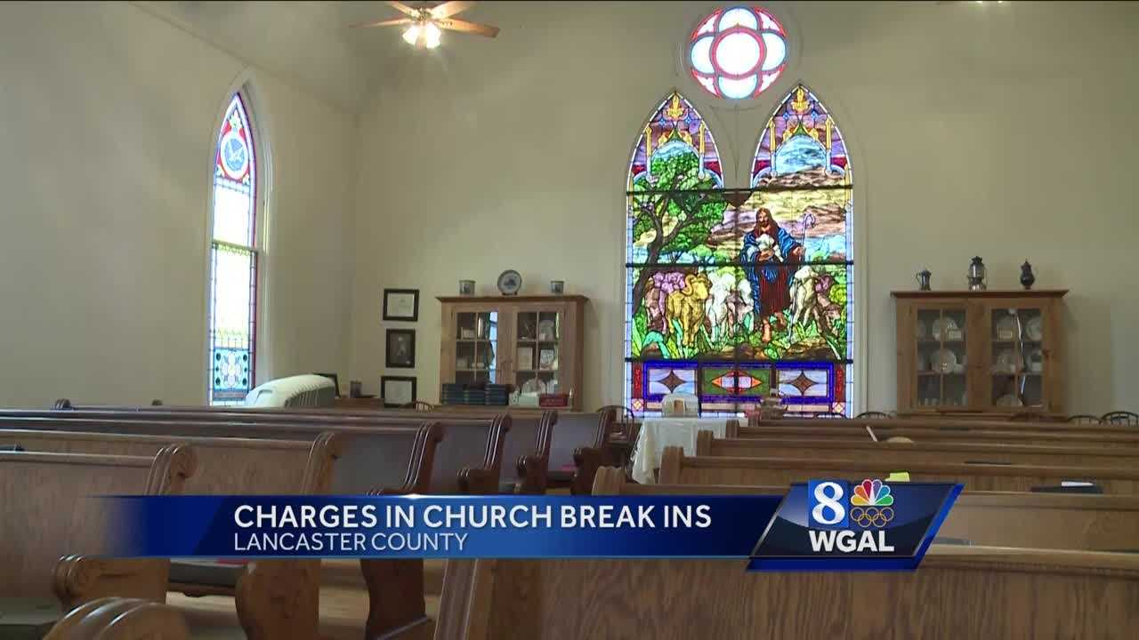church burglaries 4.27.16