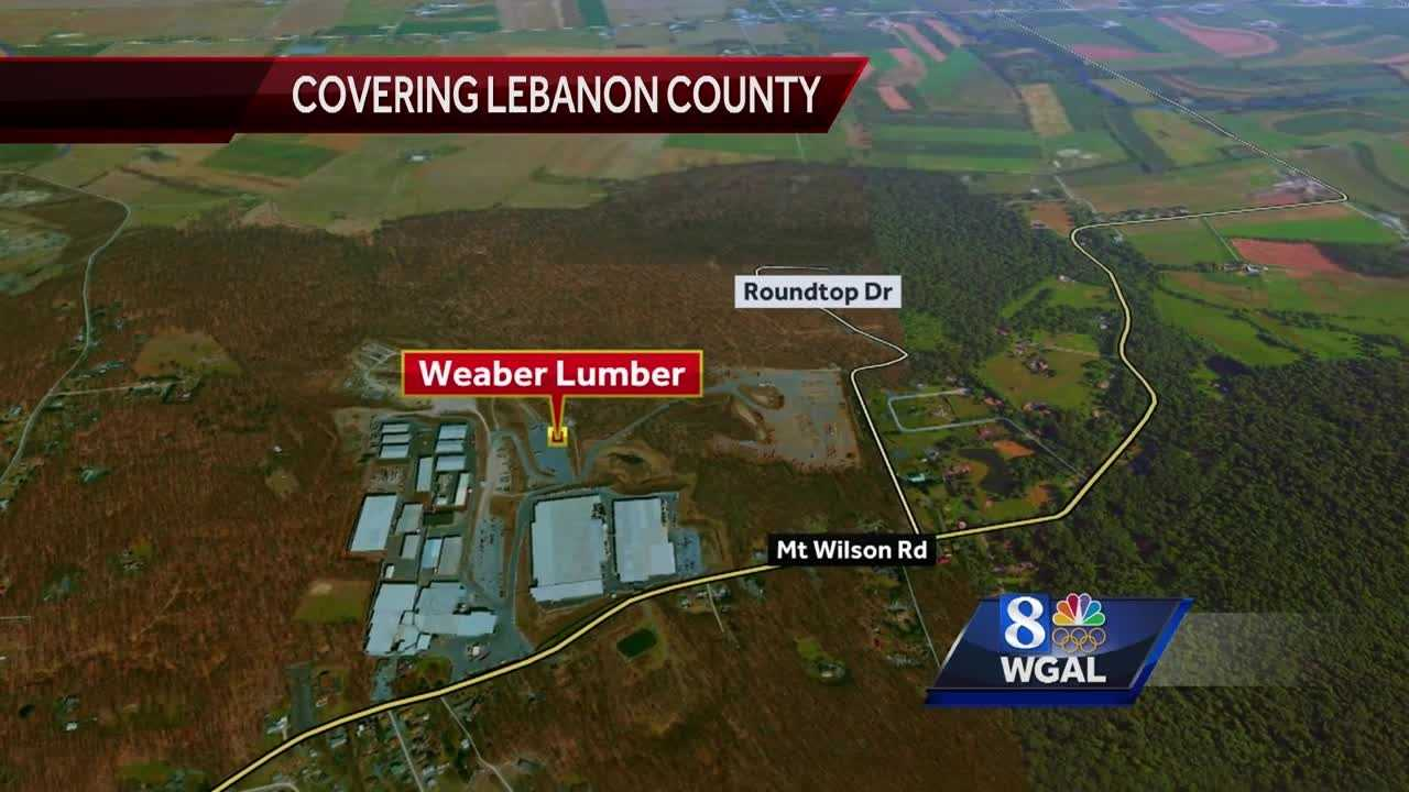 4.29.16 weaber lumber mill fire map