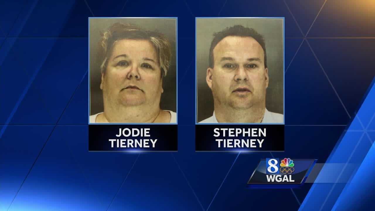 Stephen Tierney and Jodie Tierney have been charged with endangering the welfare of children, involuntary manslaughter, corruption of minors and selling/furnishing liquor or malt/brewed beverages to minors.