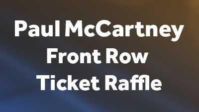 Paul McCartney Giveaway Memorial Weekend