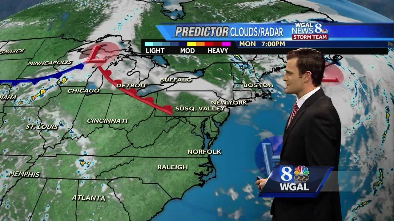 The News 8 Storm Team Forecast With Meteorologist Matt Moore