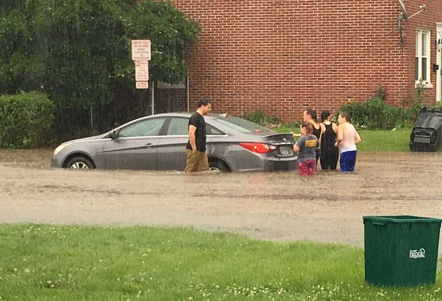 Flooding in Lancaster City