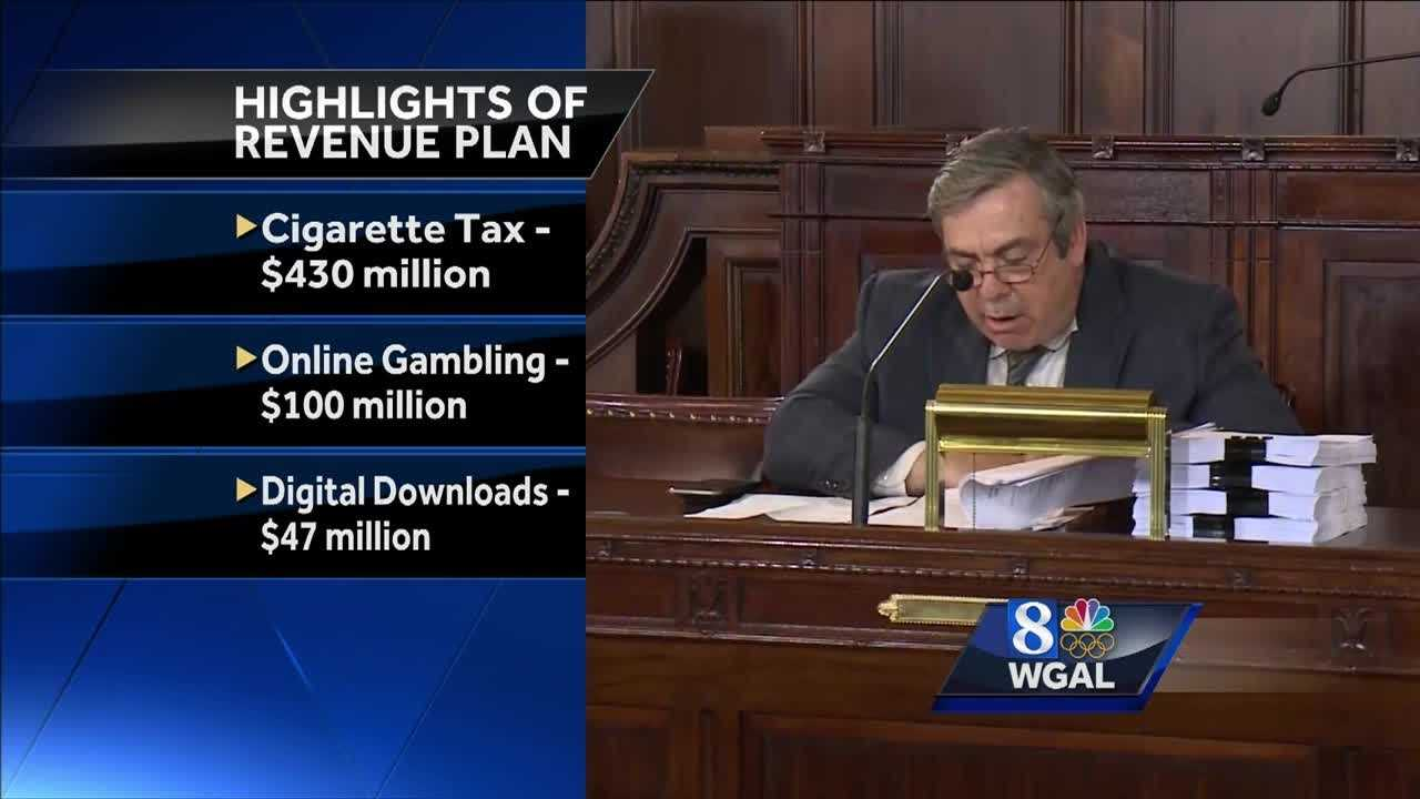 7.14.16 State budget comes with new taxes