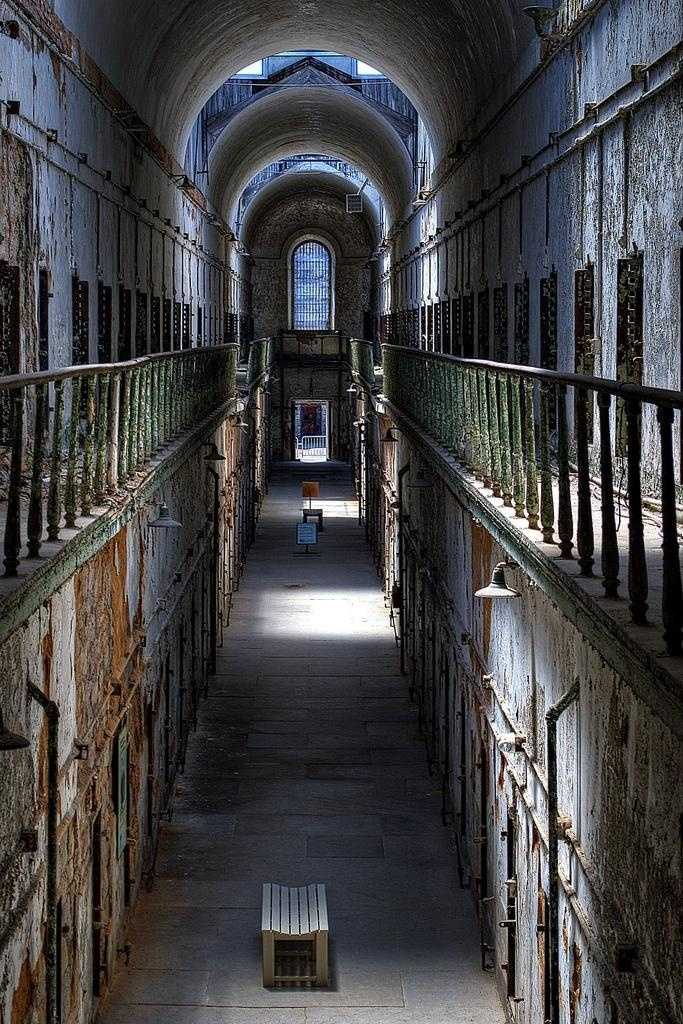 Eastern State Penitentiary is said to have hundreds of spirits walk its corridors. Cell Block 12 is rumored to be the site's most haunted location.