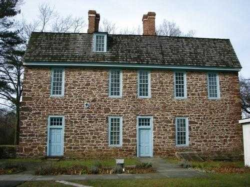 Keith House in Graeme Park is allegedly haunted by Elizabeth Graeme, a spirit believed to be her husband, and a headless servant.